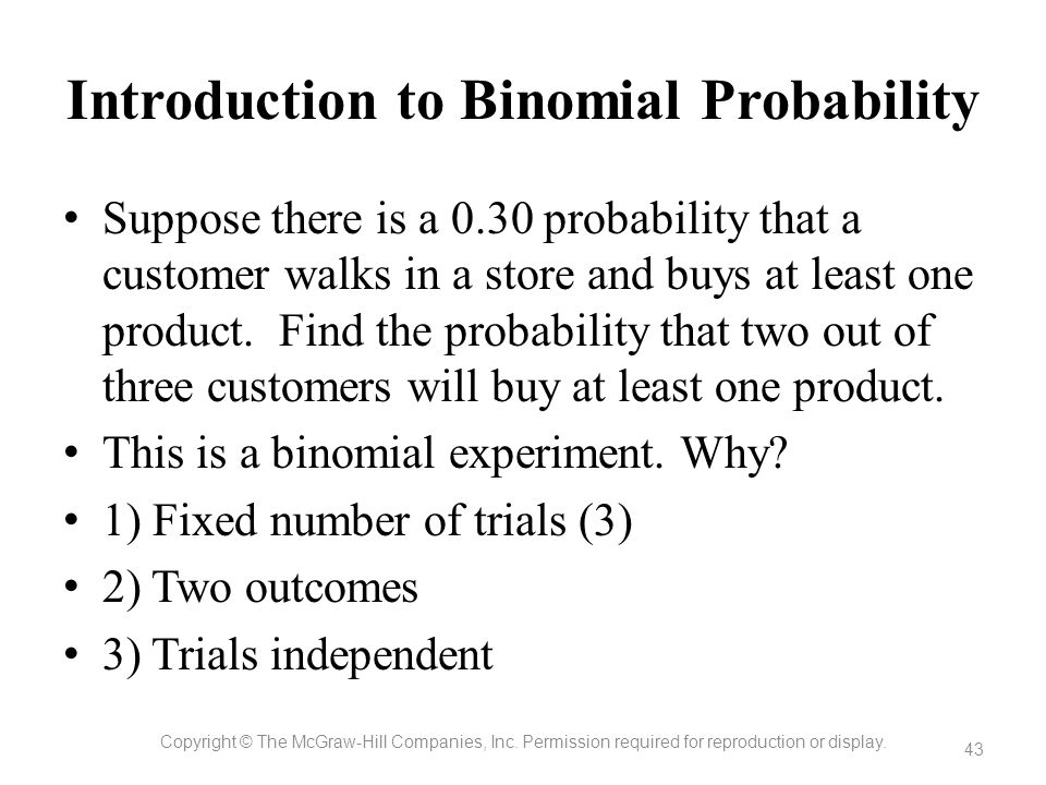Introduction to Binomial Probability