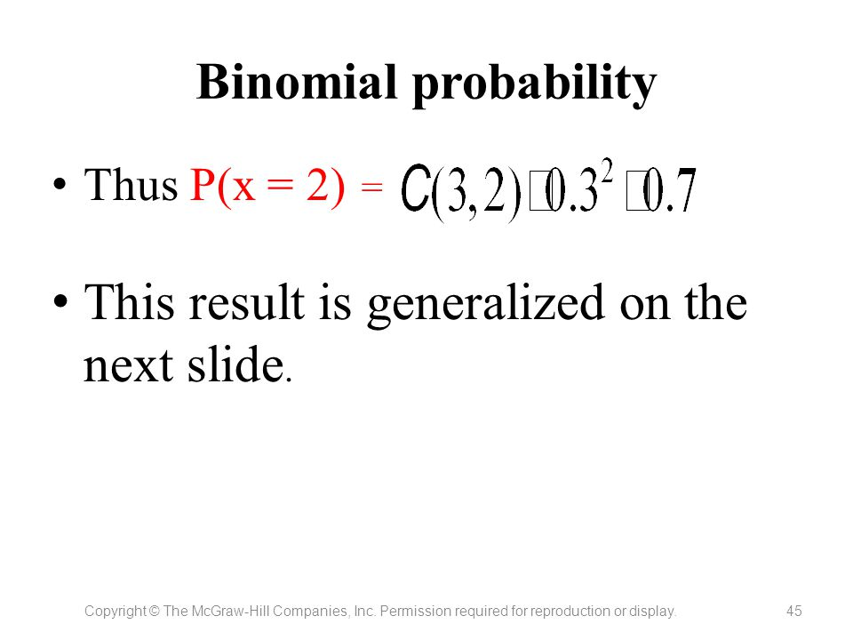This result is generalized on the next slide.