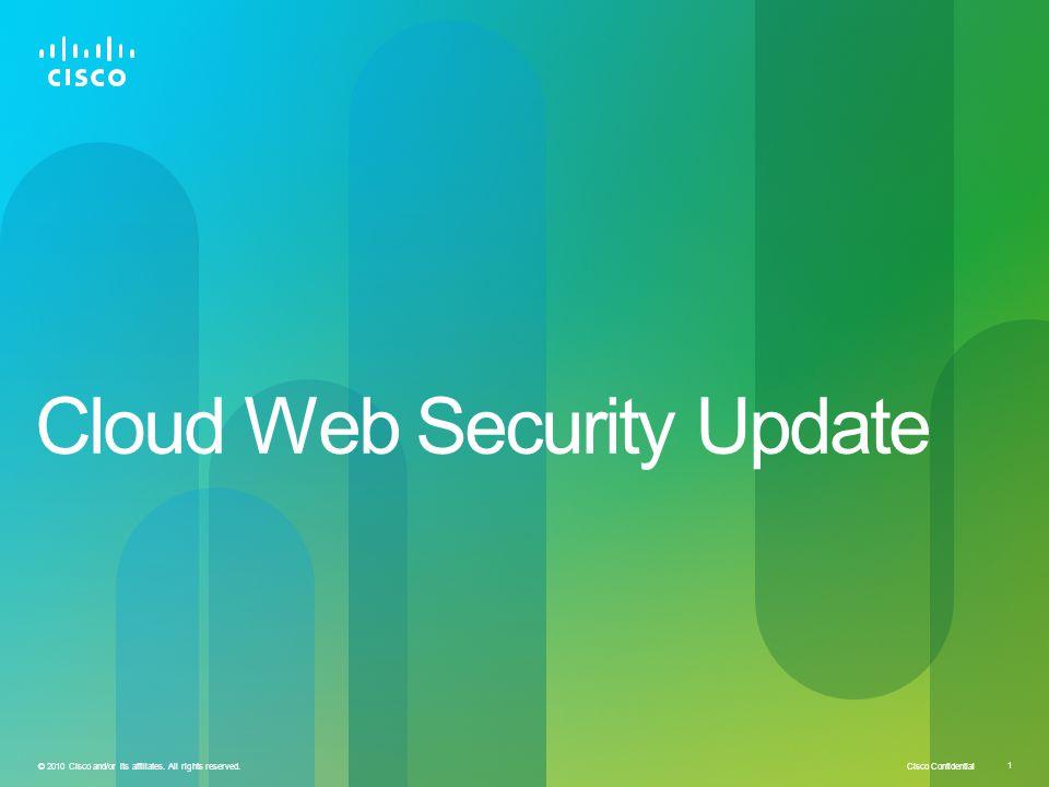 Cloud Web Security Update