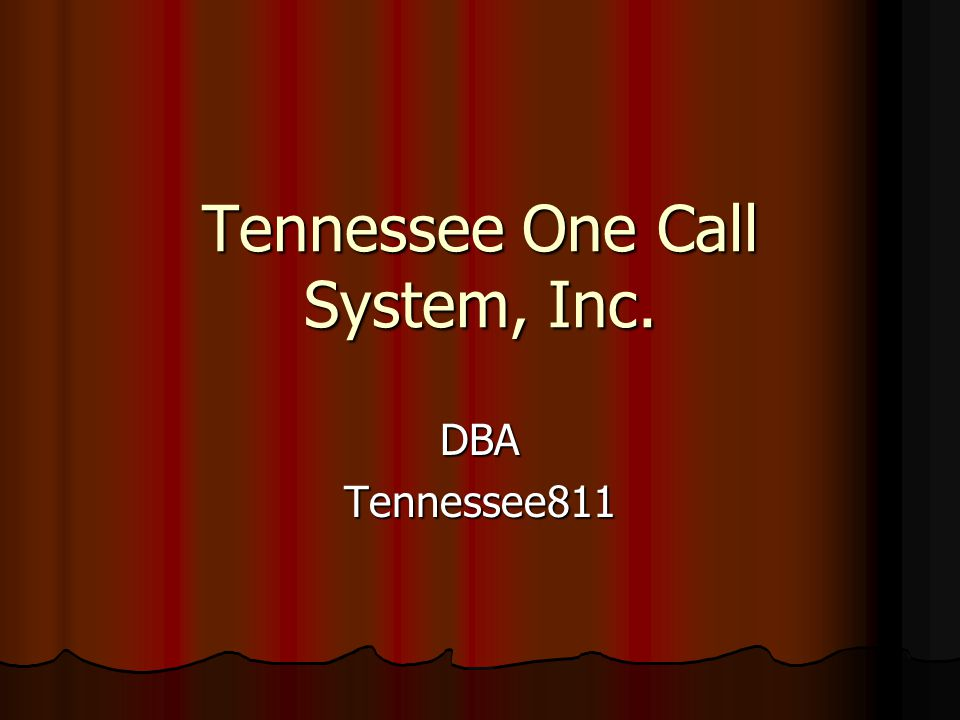 Tennessee One Call System, Inc.