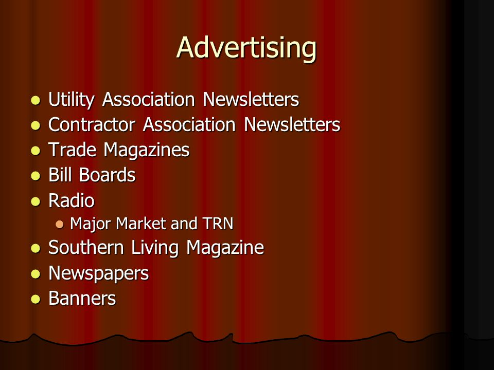 Advertising Utility Association Newsletters