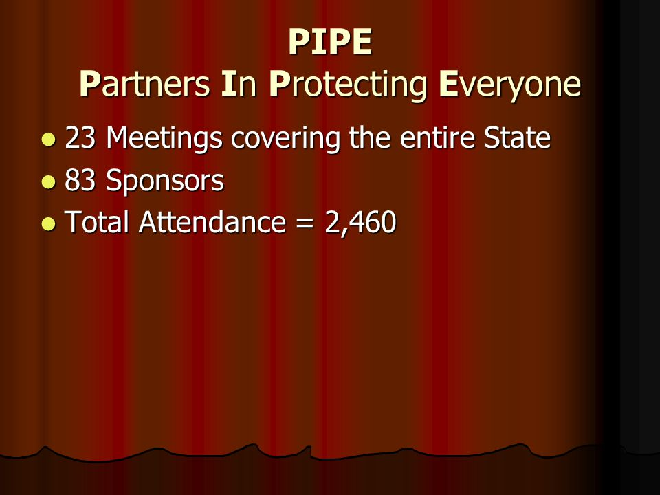 PIPE Partners In Protecting Everyone