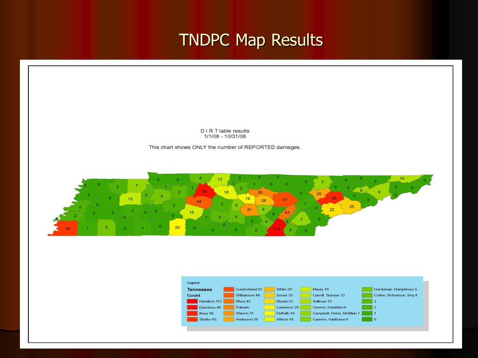 TNDPC Map Results