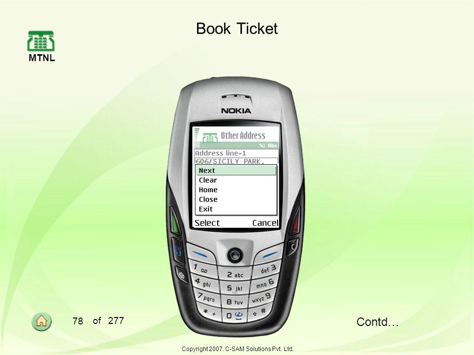 Copyright 2007. C-SAM Solutions Pvt. Ltd.