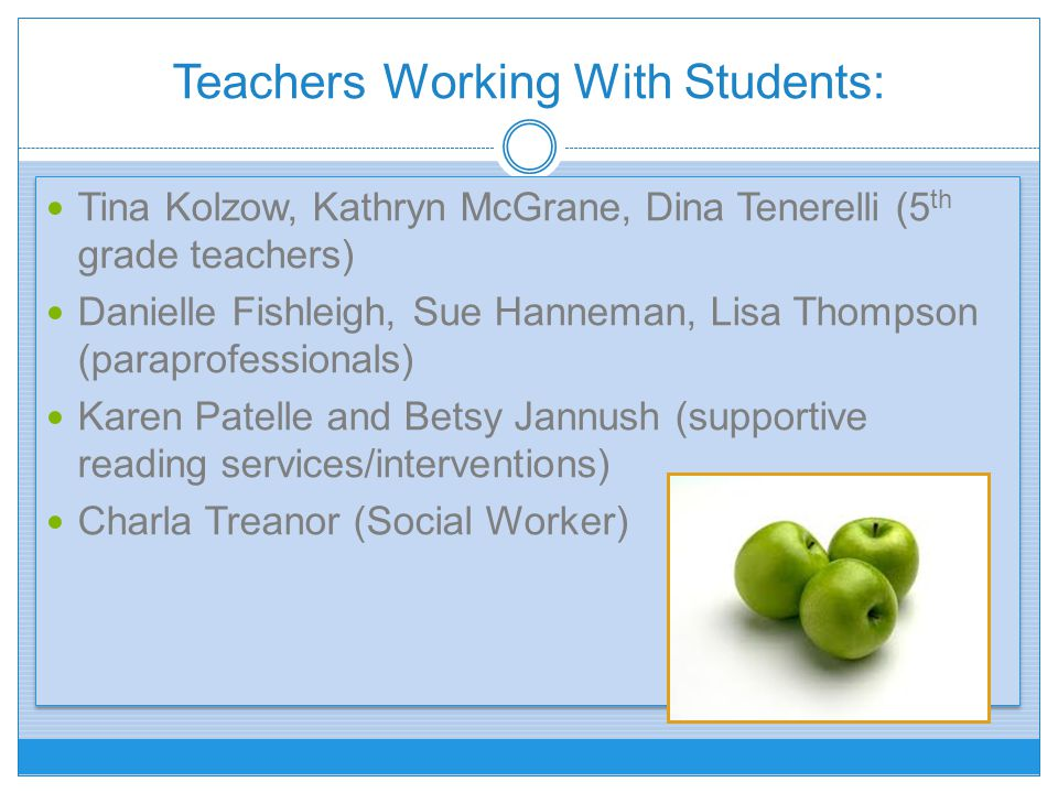 Teachers Working With Students: