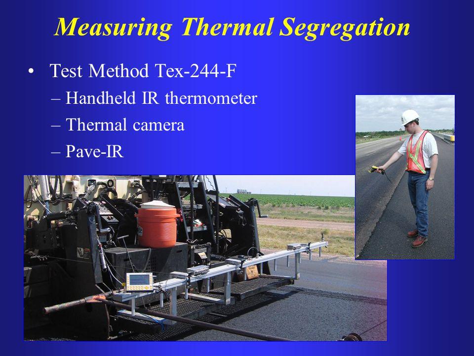 Measuring Thermal Segregation