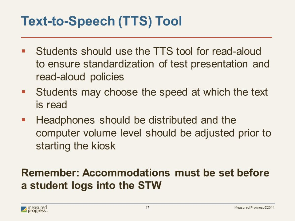 Text-to-Speech (TTS) Tool