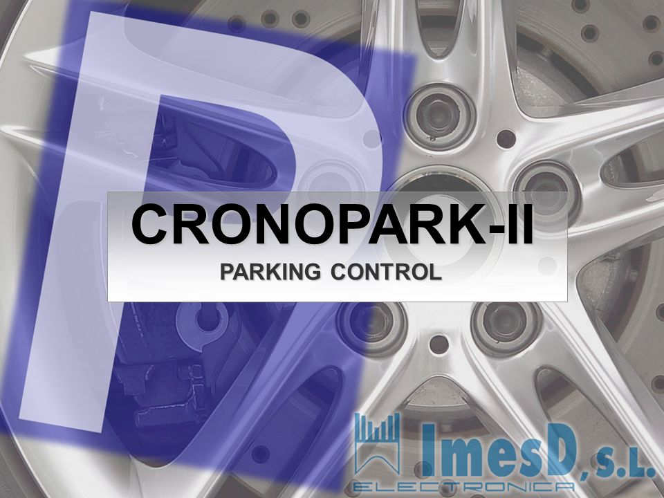 CRONOPARK-II PARKING CONTROL