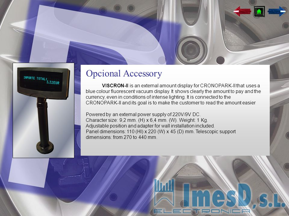 Opcional Accessory