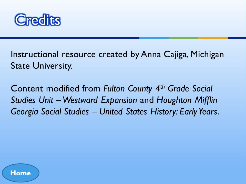Credits Instructional resource created by Anna Cajiga, Michigan State University.
