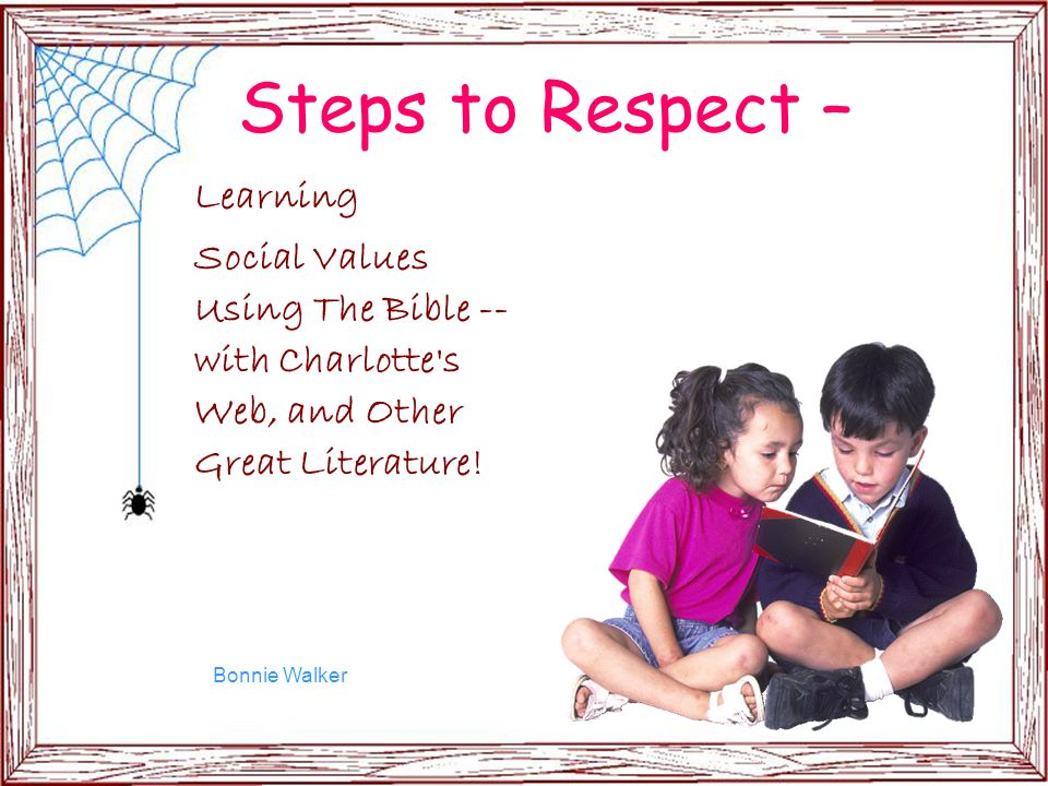 Steps to Respect – Learning