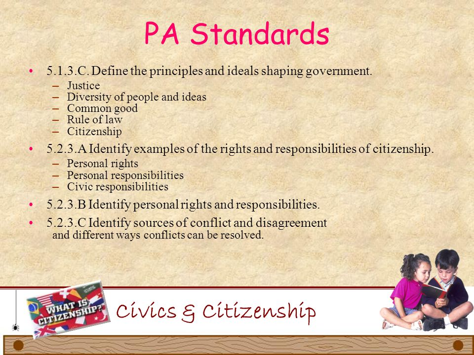 PA Standards Civics & Citizenship