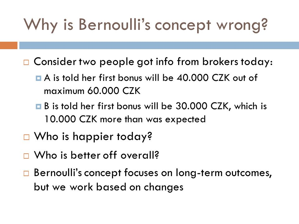 Why is Bernoulli's concept wrong