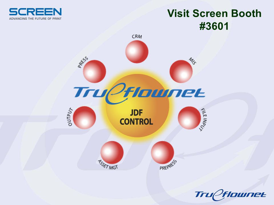 Visit Screen Booth #3601