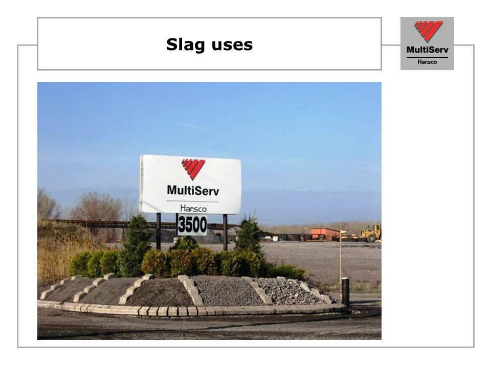 Slag uses