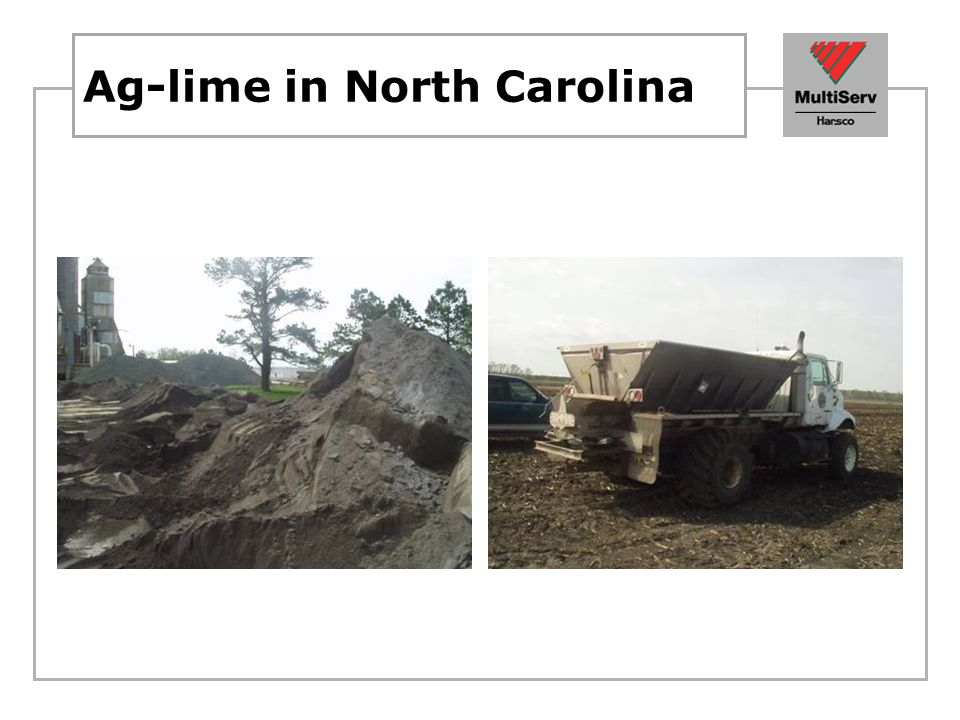 Ag-lime in North Carolina