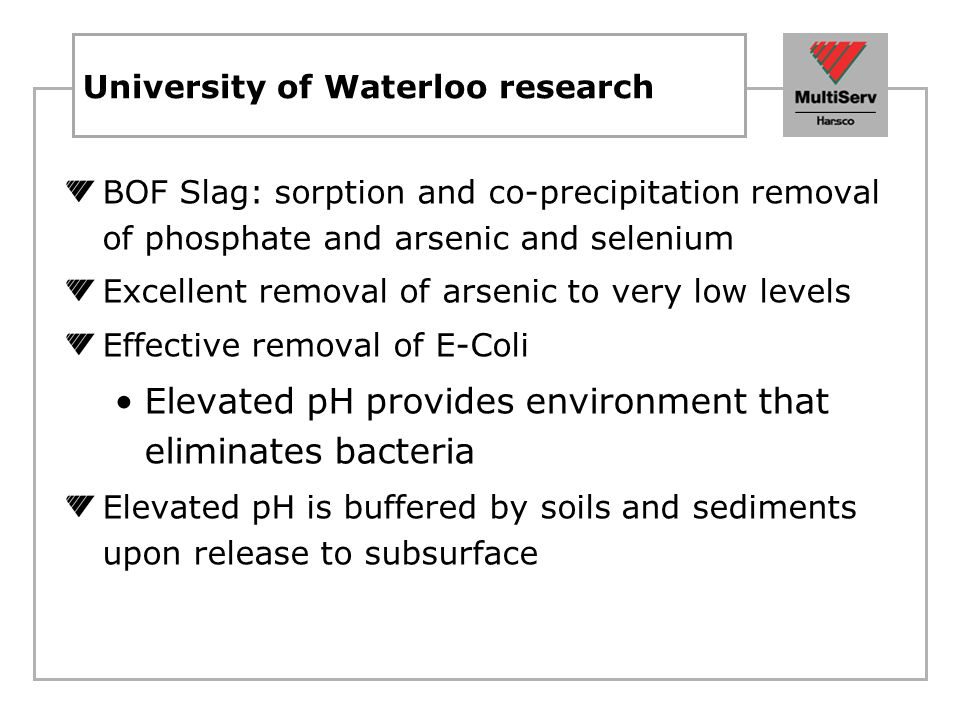 University of Waterloo research