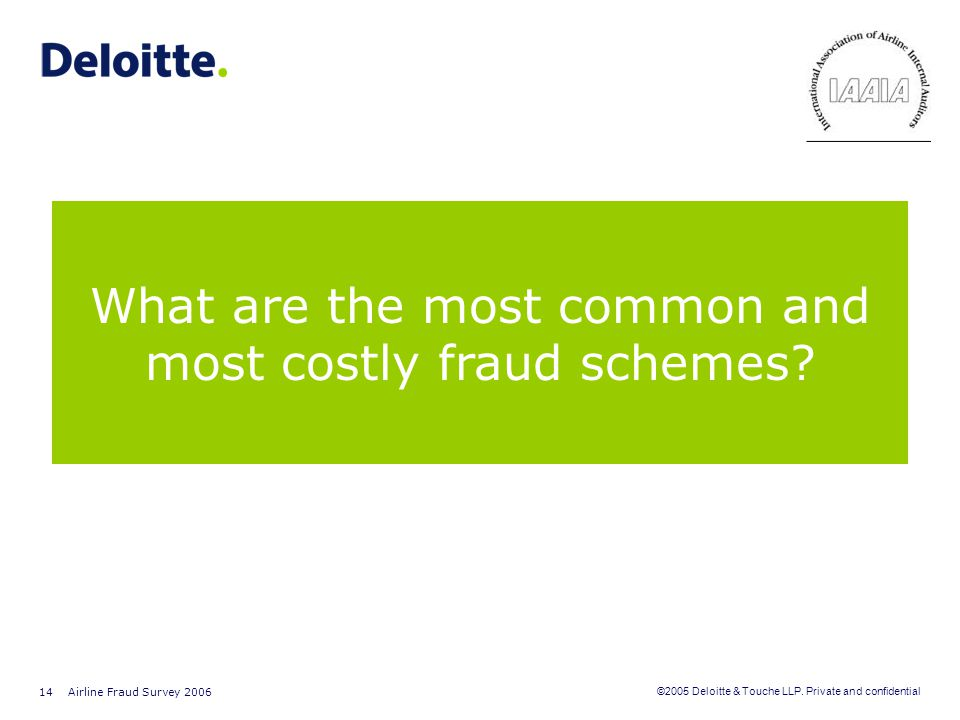 What are the most common and most costly fraud schemes
