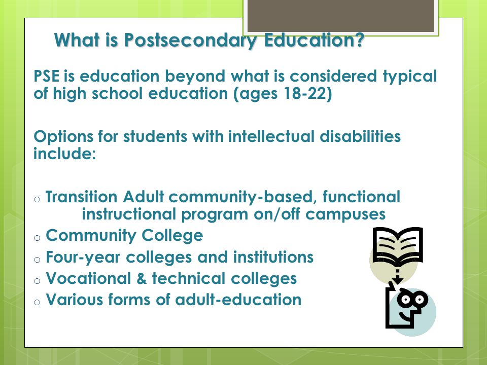 What is Postsecondary Education