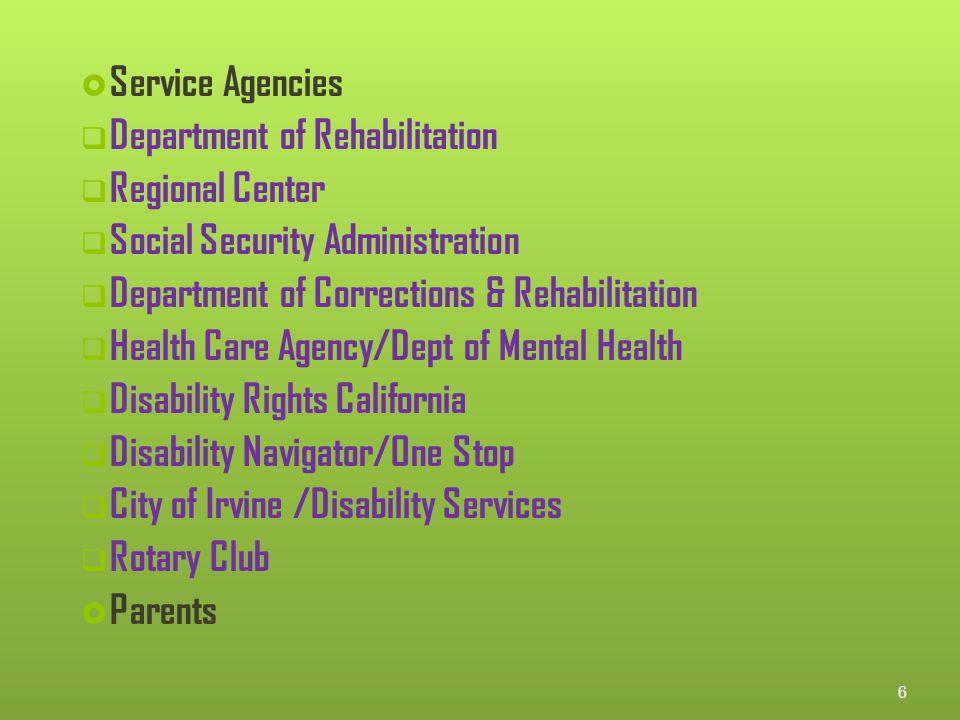 Orange County Adult Transition Task Force
