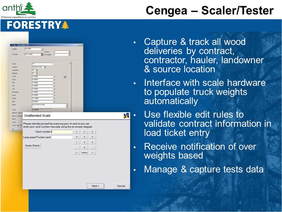 Cengea – Scaler/Tester