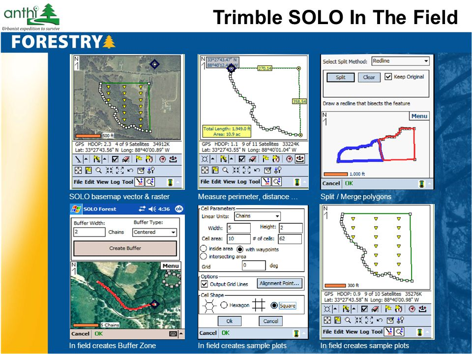 Trimble SOLO In The Field