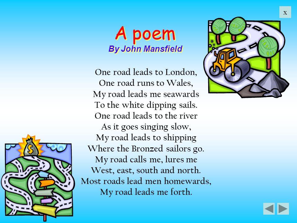 A poem By John Mansfield