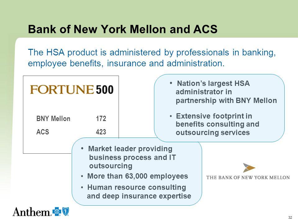Bank of New York Mellon and ACS