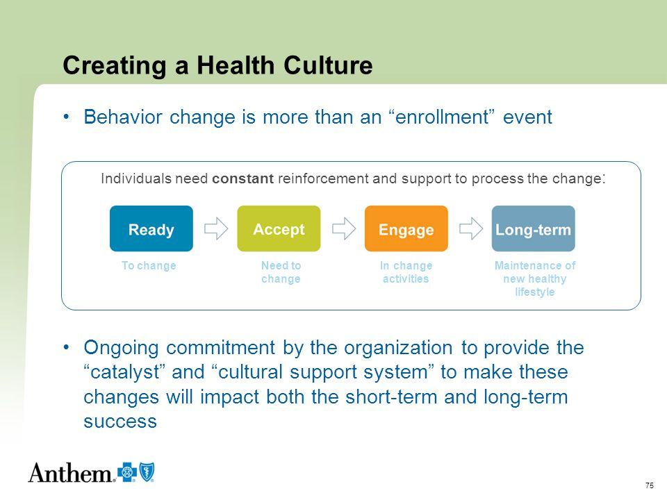 Creating a Health Culture