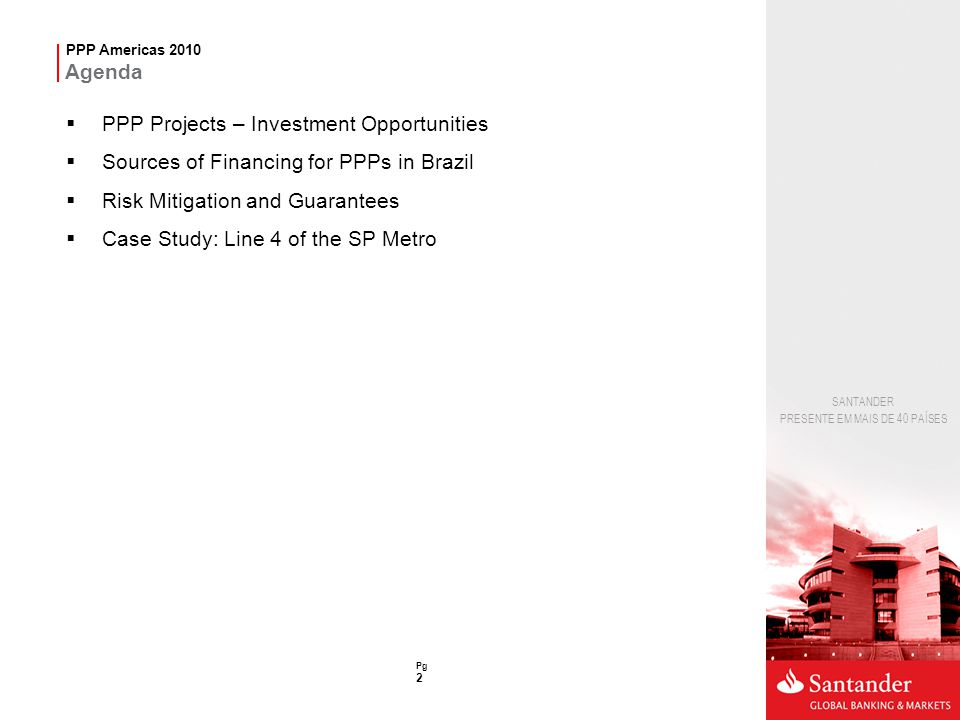 PPP Projects – Investment Opportunities