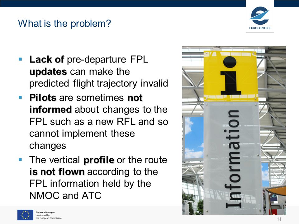 What is the problem Lack of pre-departure FPL updates can make the predicted flight trajectory invalid.