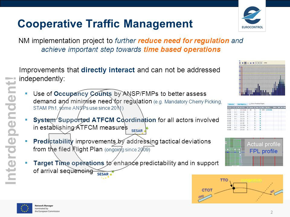 Cooperative Traffic Management