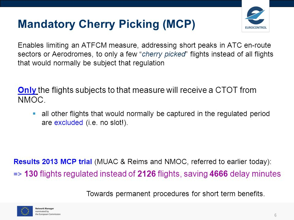 Mandatory Cherry Picking (MCP)
