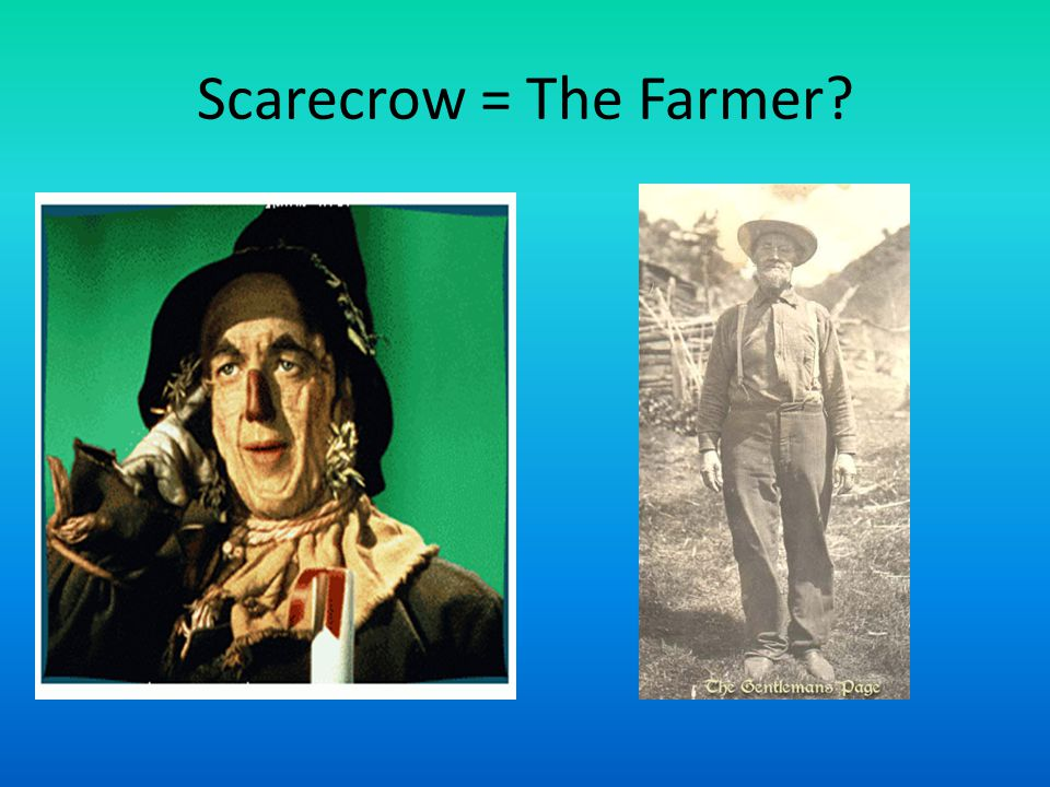 Scarecrow = The Farmer