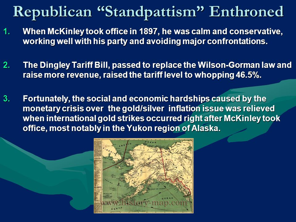 Republican Standpattism Enthroned