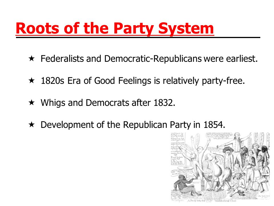 Roots of the Party System