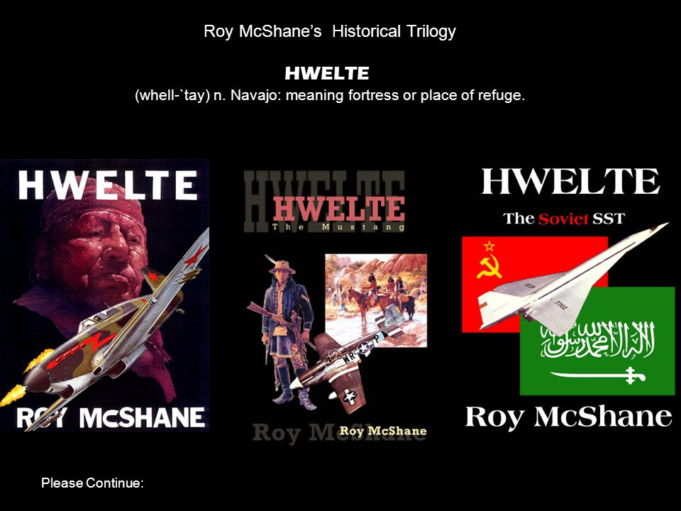 Roy McShane's Historical Trilogy