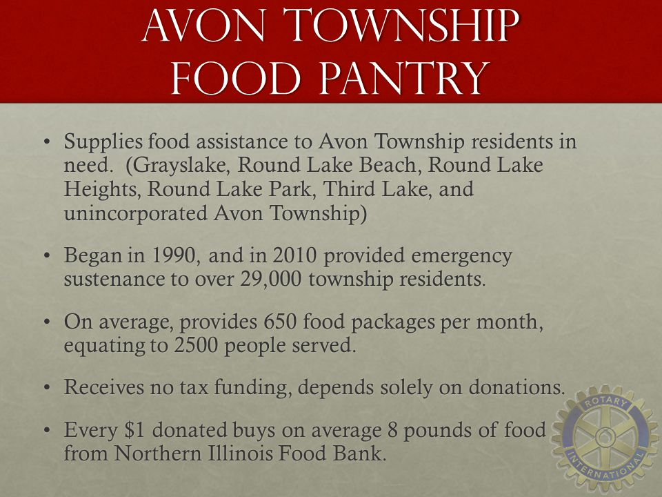 Avon Township Food Pantry