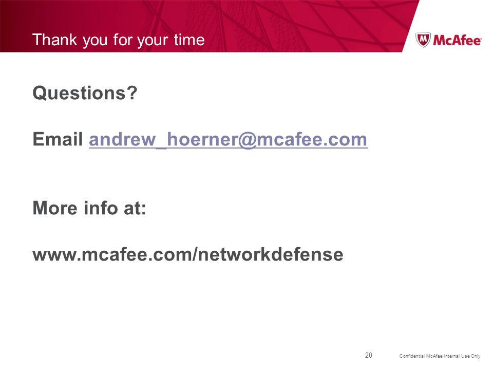 Email andrew_hoerner@mcafee.com