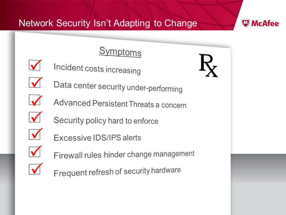 Network Security Isn't Adapting to Change