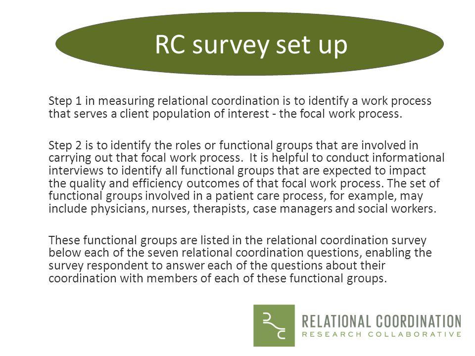 RC survey set up