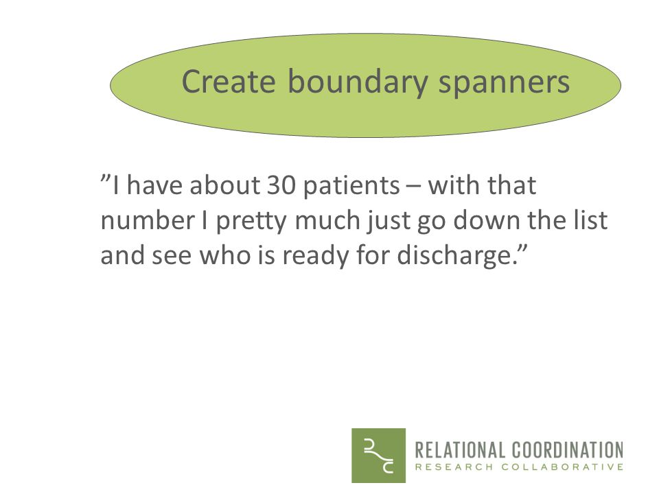 Create boundary spanners