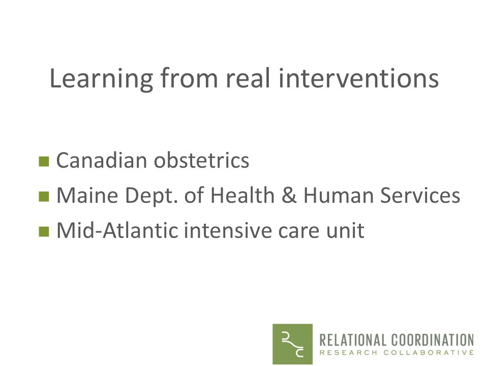 Learning from real interventions