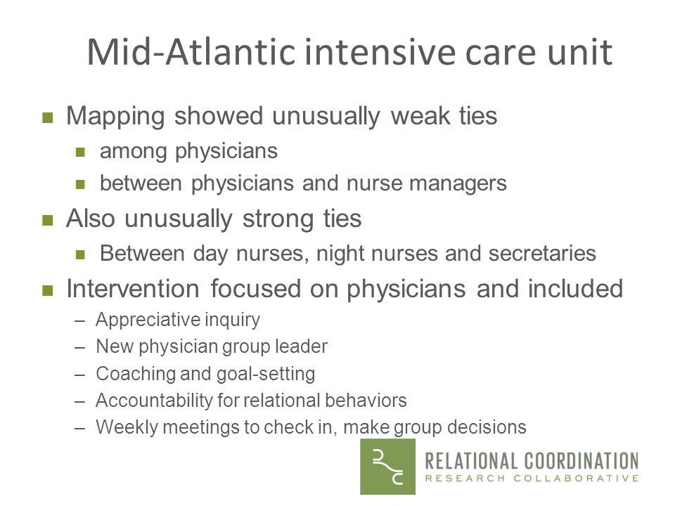 Mid-Atlantic intensive care unit