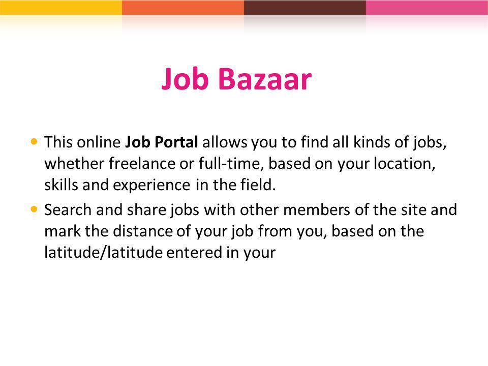 Job Bazaar