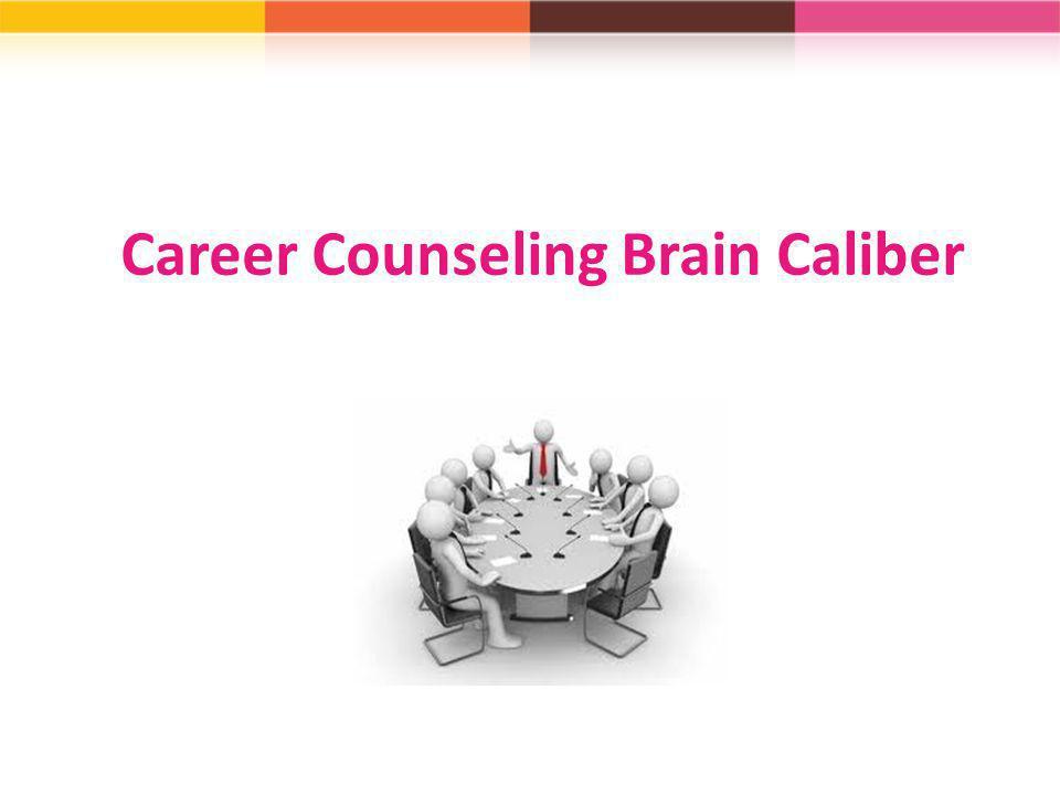 Career Counseling Brain Caliber