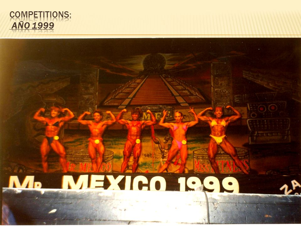 Competitions: AÑO 1999