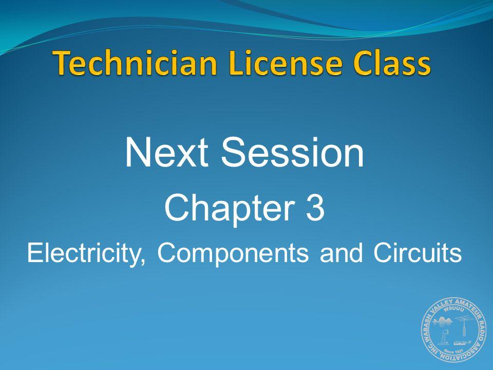 Technician License Class