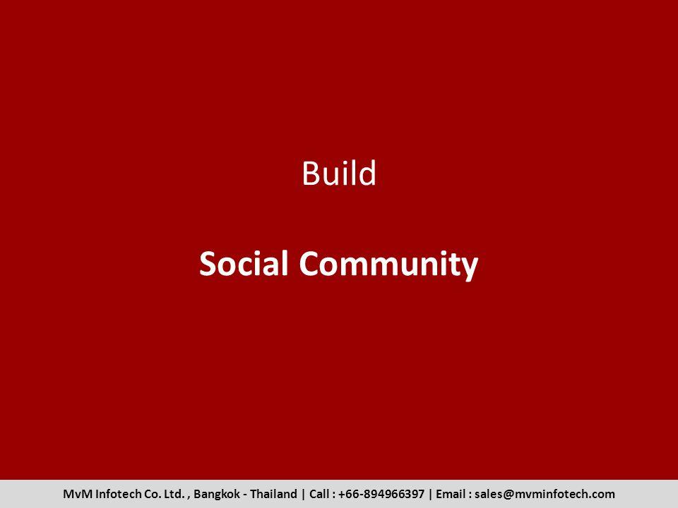 Build Social Community