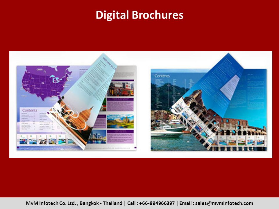Digital Brochures MvM Infotech Co. Ltd.